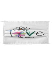 Love one another face mask Cloth face mask front