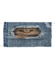 Inside Cat Cloth Face Mask Cloth face mask front