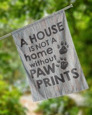 """A house is not a home without paw prints flag 29.5""""x39.5"""" House Flag aos-house-flag-29-5-x-39-5-ghosted-lifestyle-17"""