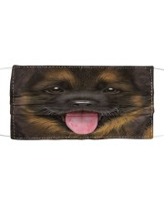 German Shepherd Puppy Cloth Face Mask Cloth face mask front