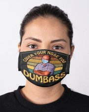 Cover your nose too dumbass face mask Cloth face mask aos-face-mask-lifestyle-01