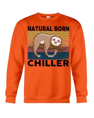 Natural Born Chiller Funny Sloths Lover Gift