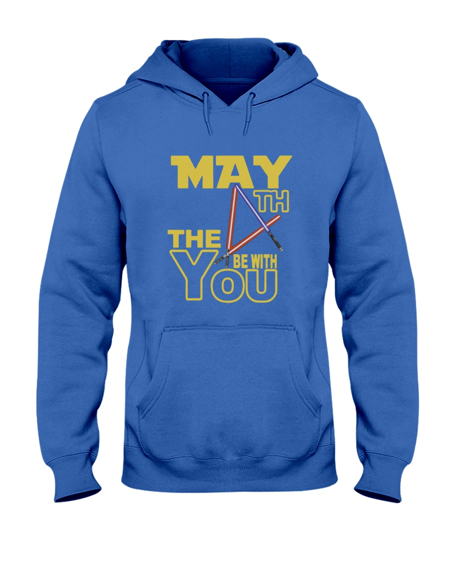 May Fourth gift Be With U You Hooded Sweatshirt