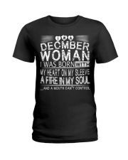 December Woman T Shirt Ladies T-Shirt thumbnail
