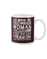 December Woman T Shirt Mug thumbnail
