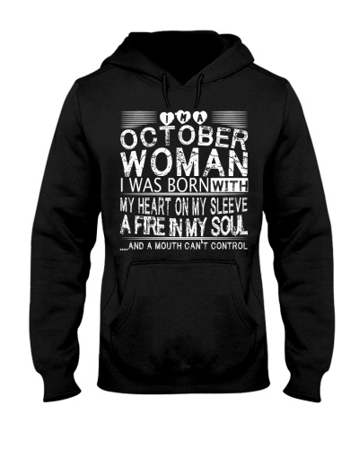 October Woman T Shirt