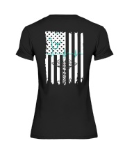 American Nurse Flag T-Shirts Premium Fit Ladies Tee thumbnail