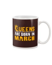 Queens Are Born In March T Shirts Mug thumbnail