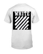 This is not supereme co white Classic T-Shirt back