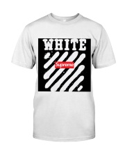 This is not supereme co white Classic T-Shirt front