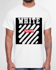 This is not supereme co white Classic T-Shirt garment-tshirt-unisex-front-03