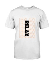 Relax Exclusive Classic Tee  Classic T-Shirt front