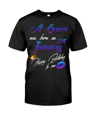 January Birthday 29th