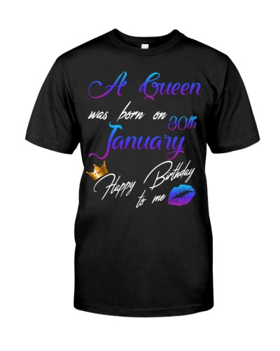 January Birthday 30th