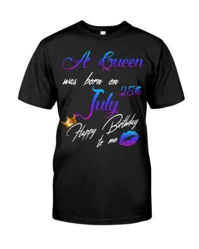 July birthday 25th