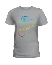 I LOVE TURTLE Ladies T-Shirt thumbnail