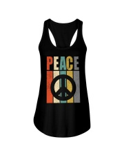 Peace Ladies Flowy Tank thumbnail