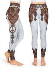 Hippie Peace Legging High Waist Leggings front