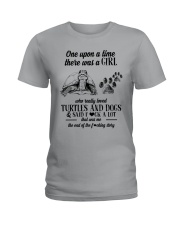 TURTLES AND DOGS Ladies T-Shirt thumbnail