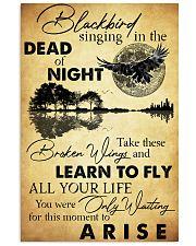 HIPPIE BLACK BIRD 11x17 Poster front
