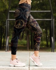 Peace Hippie Legging High Waist Leggings aos-high-waist-leggings-lifestyle-16