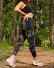 Peace Hippie Legging High Waist Leggings aos-high-waist-leggings-lifestyle-20