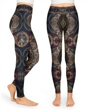 Peace Hippie Legging High Waist Leggings front