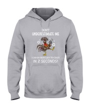 DONT UNDERESTIMATE ME Hooded Sweatshirt thumbnail