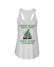 I WANT PEACE EVERYWHERE Ladies Flowy Tank tile