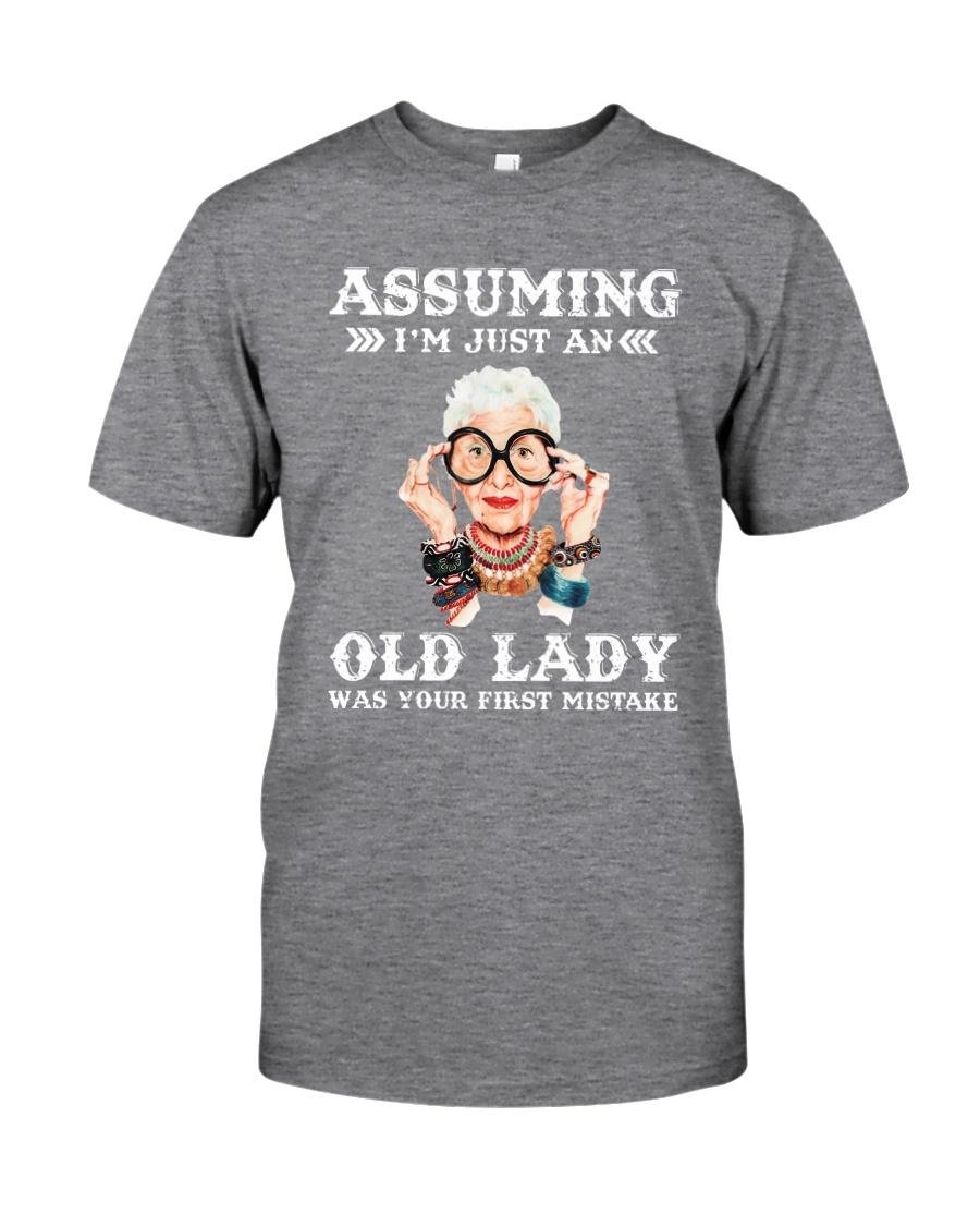 ASSUMING IAM JUST AN Classic T-Shirt