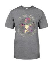 I AM NOT WEIRD Classic T-Shirt front