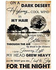 HIPPIE ON A DARK DESERT 11x17 Poster front