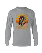 SHE IS A WILD CHILD Long Sleeve Tee thumbnail