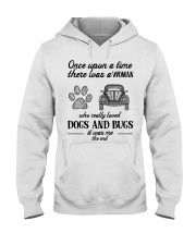 DOGS AND BUGS Hooded Sweatshirt thumbnail