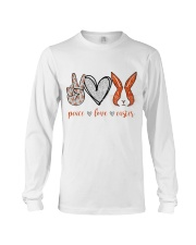 PEACE LOVE EASTER Long Sleeve Tee thumbnail