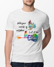 Whisper words of wisdom - Let it be Classic T-Shirt lifestyle-mens-crewneck-front-13