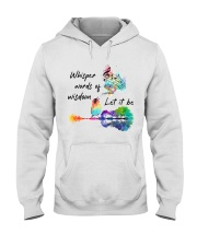 Whisper words of wisdom - Let it be Hooded Sweatshirt thumbnail