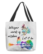 Whisper words of wisdom - Let it be All-over Tote thumbnail