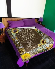 "BLANKET TO MY WIFE I LOVE YOU Large Fleece Blanket - 60"" x 80"" aos-coral-fleece-blanket-60x80-lifestyle-front-01"