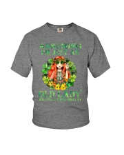 ASSUMING IAM JUST AN OLD LADY Youth T-Shirt thumbnail