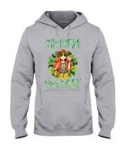 ASSUMING IAM JUST AN OLD LADY Hooded Sweatshirt thumbnail