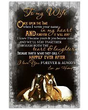 I LOVE YOU FOREVER AND ALWAYS 11x17 Poster front