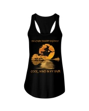 Hippie Hotel California Lyrics Ladies Flowy Tank thumbnail