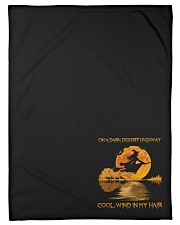 "Hippie Hotel California Lyrics Small Fleece Blanket - 30"" x 40"" thumbnail"