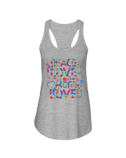 PEACE LOVE AND MORE LOVE  Ladies Flowy Tank thumbnail