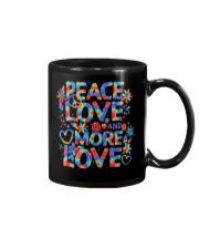 PEACE LOVE AND MORE LOVE  Mug thumbnail