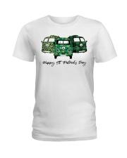 HAPPY ST PATNICKS DAY Ladies T-Shirt thumbnail