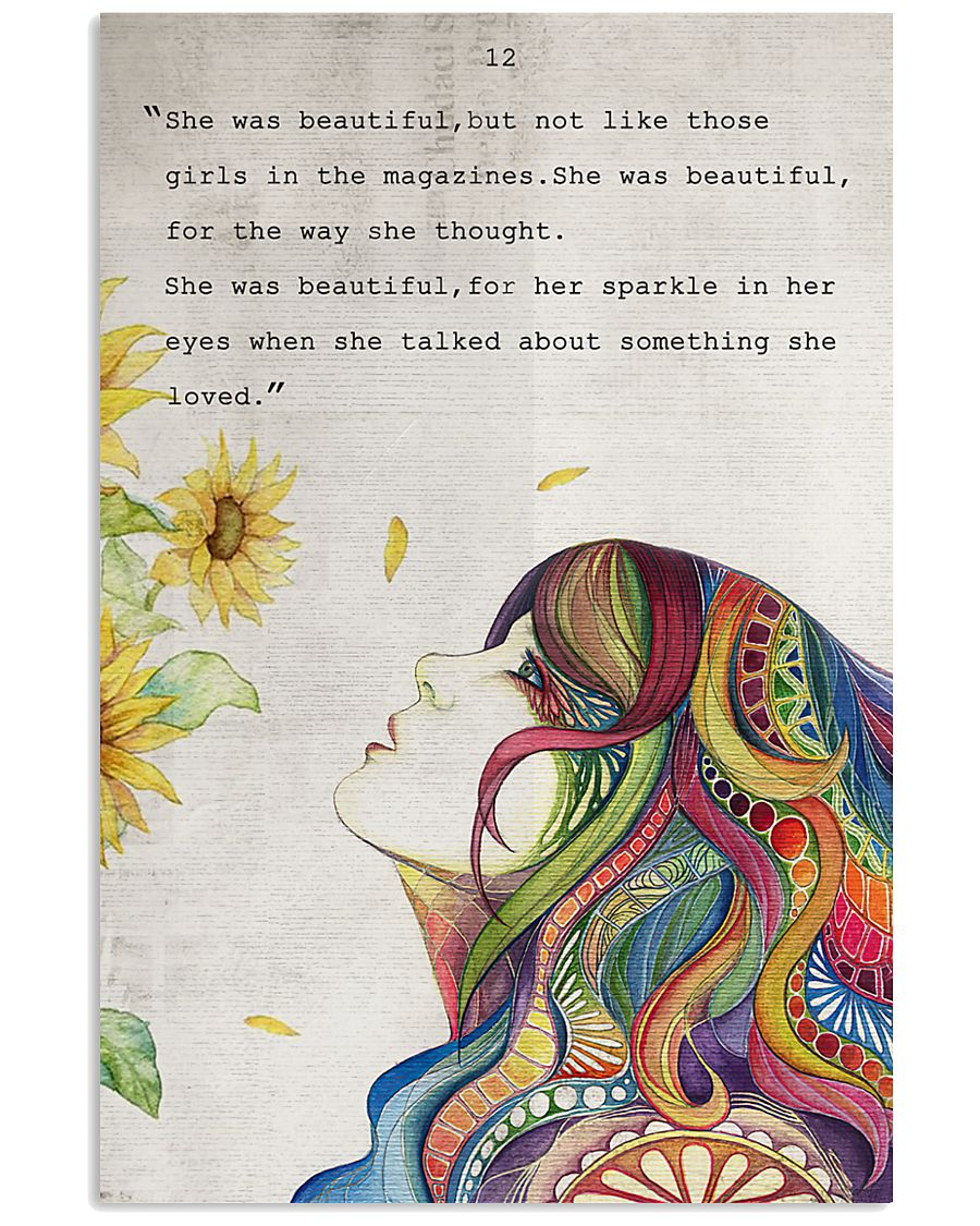 SHE WAS BEAUTIFUL 11x17 Poster