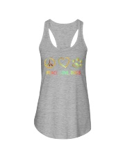 PEACE LOVE DOGS Ladies Flowy Tank thumbnail