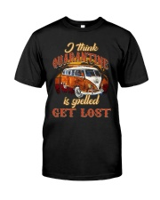 GET LOST Classic T-Shirt front